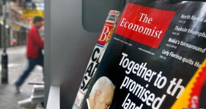 """The Economist """"The wandering Palestinian"""""""