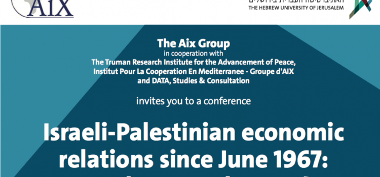 Israeli-Palestinian economic relations since June 1967: Are there any lessons?