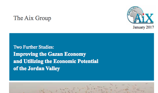 Two Further Studies: Improving the Gazan Economy and Utilizing the Economic Potential of the Jordan Valley